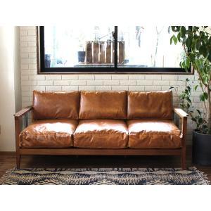 ムノル 3シート ソファ キャメル オイル レザー Mnol 3seat sofa camel oil leather どっしりとしすぎない軽やかな空気感が美しいソファ|a-depeche