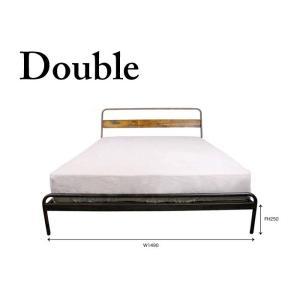 ソコフ ベッド socph bed 『double』 『ダブル』かっこいいインテリアに加えたいヴィンテージスタイルのベッド|a-depeche
