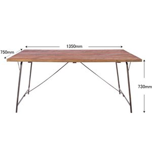 socph work dining table 1350 ソコフ ワークダイニング テーブル『1350』 送料無料|a-depeche