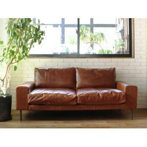 ヴィデル ソファ キャメル オイル レザー VIDER sofa camel oil leather|a-depeche