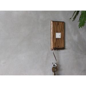 ウッド ハングバー スイッチプレート 1口 wood hang bar switch plate 1口 あたたかみのあるウッドの質感を楽しむ機能的なスイッチカバー|a-depeche