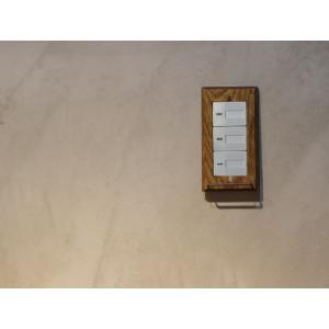 ウッド ハングバー スイッチプレート ワイド チェーンやフックなど、引っ掛けられるバーの付いたスイッチプレート  ワイドタイプのスイッチに対応|a-depeche