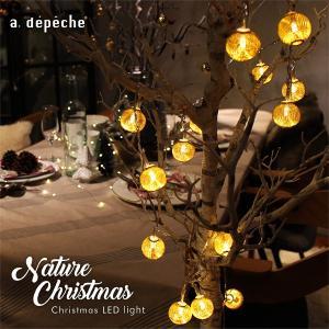 『クリスマス LEDライト』 ツリーライト LEDイルミネーション LEDガーランド フェアリーライト パーティーライト クリスマスライト 電飾 aw 『予約受付中』 a-depeche
