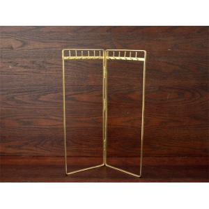 ブラス / ネックレススタンド アクセサリーを主役にするシンプルな真鍮製のネックレススタンド|a-depeche