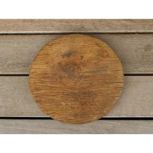 チャクラ 一木 B インドの古材を使用した、存在感のあるチャクラ|a-depeche