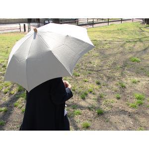 日傘 リネンパラソル (折りたたみ 無地) SUR MER シュールメール天然素材を使用したナチュラルな日本製折りたたみ日傘 送料無料|a-depeche