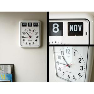 TWEMCO/トゥエンコ BQ-12A カレンダー付きのウォールクロック|a-depeche