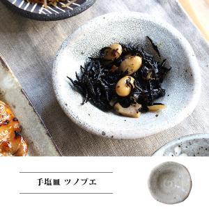 手塩皿 ツノブエ 『豆皿 手塩皿 小皿 しょうゆ皿 日本製 陶器 和風 和 和食 フルーツ 漬物 薬味 白 おしゃれ シンプル プレゼント』 a-depeche