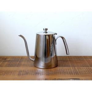 ケトル 900ml SLOW COFFEE STYLE 直火OK 食洗機・乾燥機使用可 900mlのシンプルで使いやすいステンレス製コーヒーケトル|a-depeche