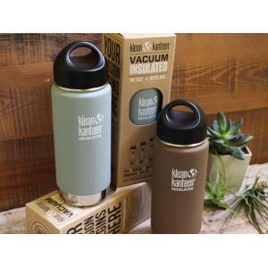 カンティーンボトル ワイド インスレート 16oz Klean Kanteen(クリーンカンティーン) オフィスでのコーヒーやアウトドアでの飲み物の保冷保温できるマグボトル|a-depeche