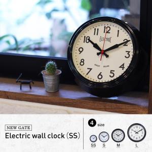 エレクトリック ウォールクロック (SS) NEW GATE レトロ・アンティークをテーマにデザインされた掛け時計 送料無料|a-depeche