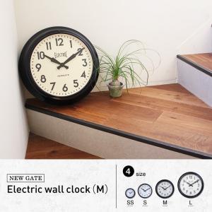 エレクトリック ウォールクロック (M) NEW GATE ソファや階段に立て掛けても素敵!インテリアにもなるウォールクロック 送料無料|a-depeche