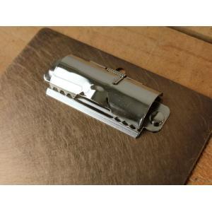 ブラスクリップボード(錆) 真鍮無垢で作られたシンプルなクリップボード 伝票用 日本製|a-depeche