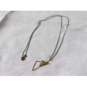 ro-ji Thida ネックレス tn151 真鍮の繊細なゆらぎを楽しむシンプルなネックレス|a-depeche