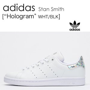 adidas STAN SMITH WHT/BLK Hologram スタンスミス ホログラム EE8483|a-dot