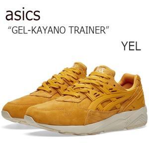 asics tiger アシックスタイガー GEL-KAYANO TRAINER Golden Yellow  ゲルカヤノ イエロー H6M2L-3131|a-dot