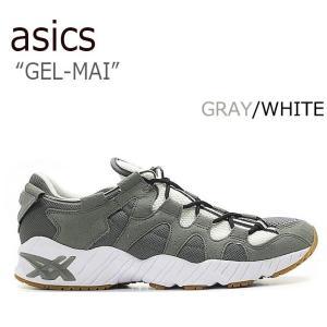 asics tiger GEL-MAI アシックスタイガー ゲルマイ GRAY WHITE グレー ホワイト HN719-9797|a-dot