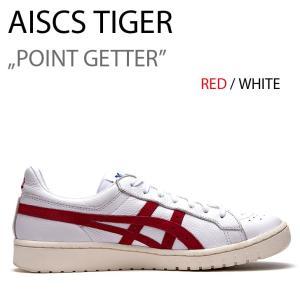 asics tiger GEL PTG ゲル ポイントゲッター アシックス RED/WHT レッド ホワイト|a-dot