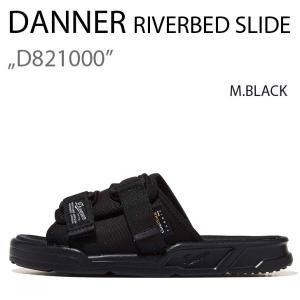 DANNER RIVERBED SLIDE D821000 ダナー M.BLACK ブラック|a-dot