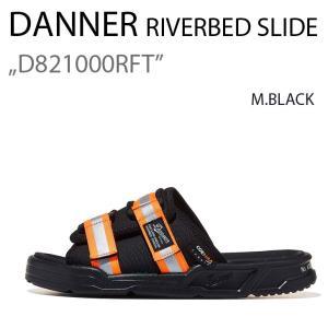 DANNER RIVERBED SLIDE D821000RFT ダナー M.BLACK ブラック|a-dot