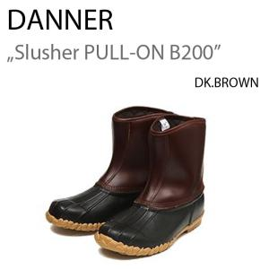 DANNER SLUSHER PULL-ON B200 スラッシャー ダナー DK.BROWN|a-dot