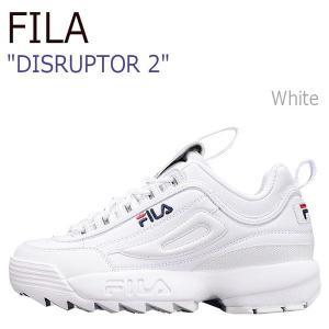 FILA  DISRUPTOR 2 フィラ ディスラプター2 White ホワイト FS1HTA1071X|a-dot