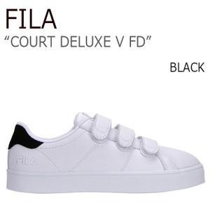 FILA COURT DELUXE V FD Black フィラ コートデラックス ベルクロ  FILA x FOLDER FLFL7S1U04|a-dot