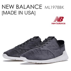 New Balance 1978 MADE IN USA ニューバランス アメリカ ブラック ML1978BK|a-dot