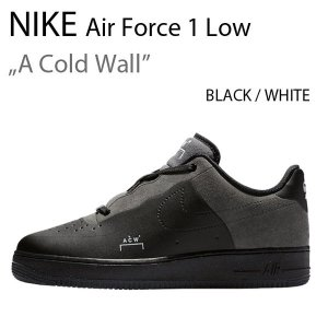 NIKE Air Force 1 Low Black A Cold Wall ナイキ ブラック エアフォース BQ6924-001|a-dot