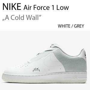 NIKE Air Force 1 Low WHITE A Cold Wall ナイキ ホワイト エアフォース BQ6924-100|a-dot
