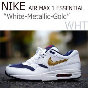 NIKE AIR MAX 1 ESSENTIAL ネイビー ホワイト エッセンシャル ナイキ エアーマックス1 537383-127|a-dot