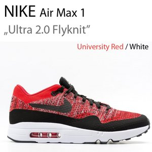 Nike ナイキ Air Max 1 Ultra 2.0 Flyknit University Red フライニット 875942-600|a-dot