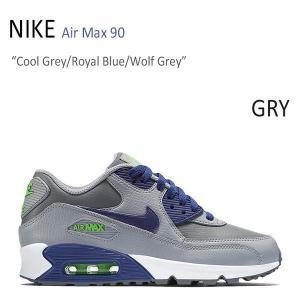 NIKE AIR MAX 90 Cool Grey Royal Blue Wolf Grey ナイキ エアーマックス90 724821-005|a-dot