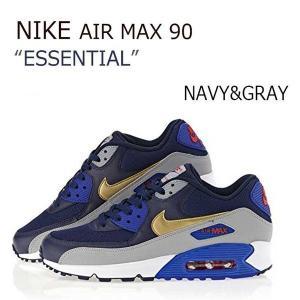 NIKE AIR MAX 90 Essential NAVY GRAY ネイビー グレー メンズ ナイキ エアーマックス90 537384-409|a-dot
