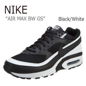 NIKE AIR MAX BW GS Black White ナイキ エアマックス 820344-001|a-dot