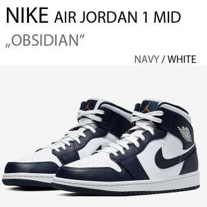 NIKE AIR JORDAN 1 MID Navy ナイキ ジョーダン ネイビー 554724-174|a-dot