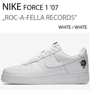 NIKE AIR FORCE 1 07 ROCAFELLA WHITE/WHITE ロッカフェラ AO1070-101|a-dot