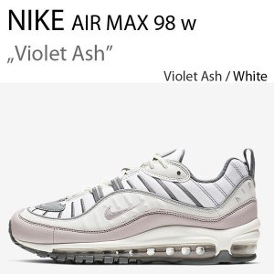 NIKE WMNS Air Max 98 Summit White/Violet Ash/Cool Grey AH6799-111  ナイキ エアマックス|a-dot