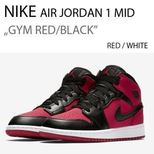 NIKE AIR JORDAN 1 MID RED BLK / ジョーダン1 レッド 554724-610|a-dot