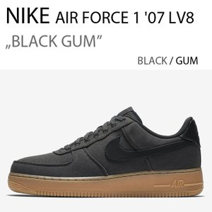 NIKE Air Force 1 07 LV8 Black Gum ナイキ エアフォース AQ0117-002|a-dot