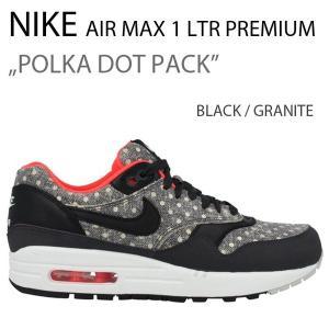 NIKE AIR MAX 1 LTR PREMIUM POLKA DOT PACK BLACK エアマックス 705282-002|a-dot