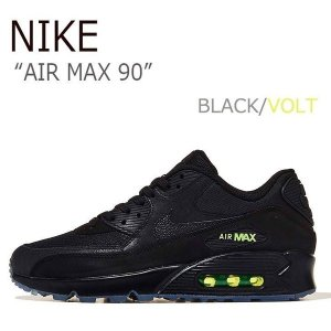 NIKE AIR MAX 90 エアマックス90 BLACK VOLT ブラック ボルト AQ6101-001|a-dot