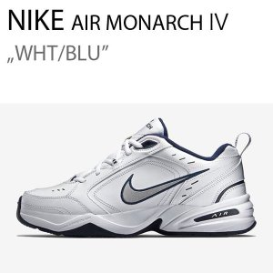 NIKE AIR MONARCH エアモナーク4 ホワイト ブルー DAD SHOES 415445 102|a-dot