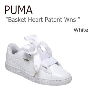 PUMA プーマ Basket Heart Patent WHITE バスケットハートパテント ホワイト 36307302|a-dot