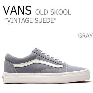 Vans バンズ OLD SKOOL オールドスクール スエード VINTAGE SUEDE GRA...