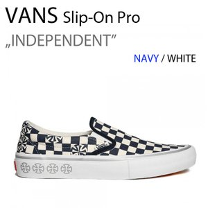 VANS SLIP-ON PRO スリッポン INDEPENDENT インディペンデント NAVY VN0A347VS5L|a-dot