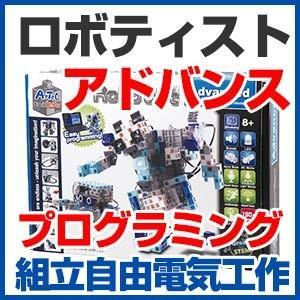 ロボティスト アドバンス ブロックロボット製作キット プログラミング制御|a-e-shop925