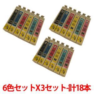 (9/16-21 PayPay別途9%) IC6CL50 X 3セット 合計18本 エプソンIC50系6色パック 3セット|a-e-shop925
