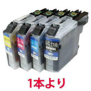 LC110 ブラザー用 色選択 互換インクカートリッジ ブラザー用プリンター用|a-e-shop925