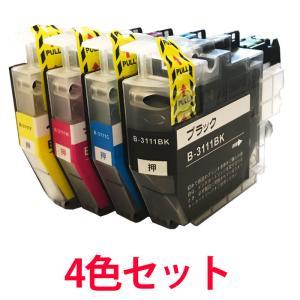 LC3111-4PK ブラザー用 互換インク 4色セット プリンターインク ICチップ付き|a-e-shop925